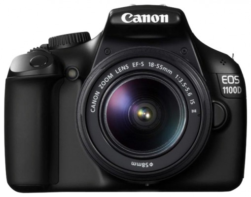 Продам Canon EOS 1100D Kit EF-S 18-55 mm F/3.5-5.6 is II + Canon EF-S 55-250mm f/4.0-5.6 IS II